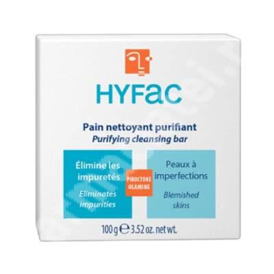 Sapun piele grasa Hyfac, 100 g, Moulin Royal Cosmetics