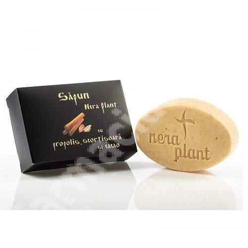 Săpun solid cu propolis, scorțișoară și cacao, 110 g, Nera Plant