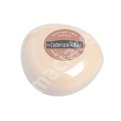 Sapun surgras de Karite, 100 g, Le Comptoir du Bain