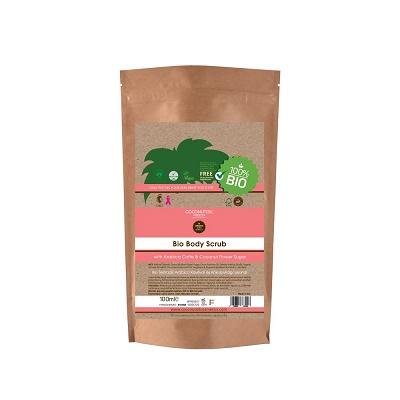 Scrub de corp din extract de nucă de cocos Bio (BOSC100), 100 ml, Coconutoil