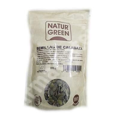 Seminte crude de dovleac, 225 g, Naturgreen