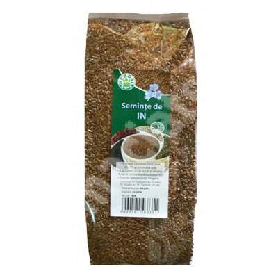 Seminte de In, 500 g, Herbavit