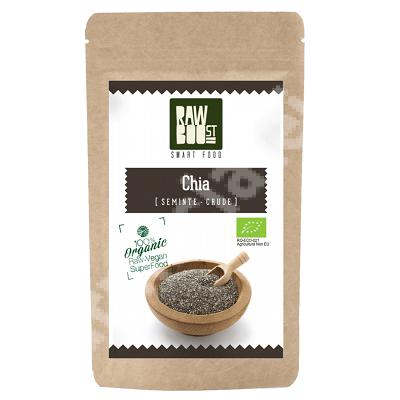 Seminte ecologice de Chia, 200 g, RawBoost