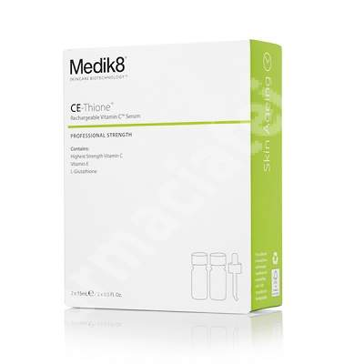 Ser antioxidant cu vitamina C CE-Thione, 2 x 15 ml, Medik8