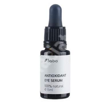 Ser antioxidant pentru ochi, 15 ml, Sabio