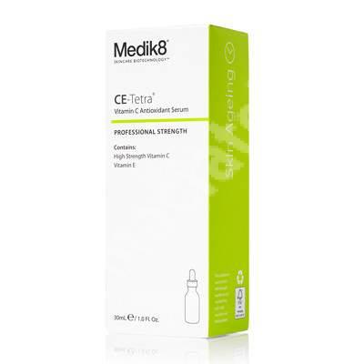 Ser antioxidant pro-colagen cu vitamina C CE-Tetra, 30 ml, Medik8