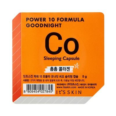 Ser de noapte pentru față CO Power 10 Formula Goodnight, 5 g, Its Skin