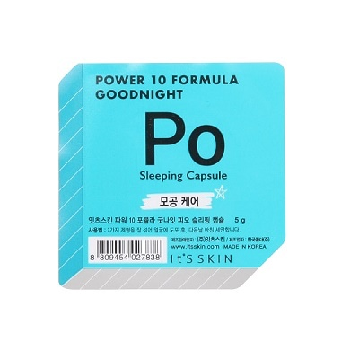 Ser de noapte pentru față PO Power 10 Formula Goodnight, 5 g, Its Skin