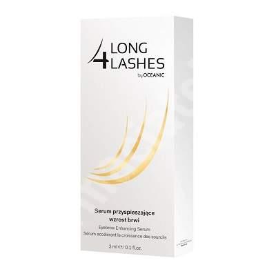 Ser pentru cresterea sprancenelor Long 4 Lashes, 3 ml, Oceanic