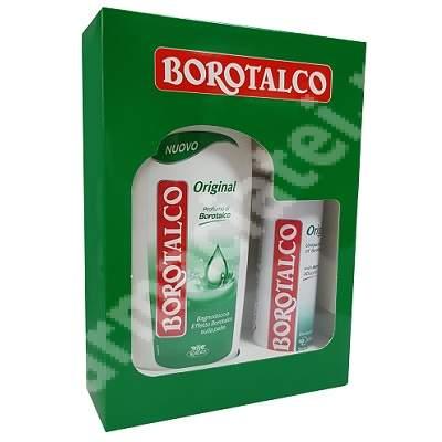 Set Gel dus Original, 500 ml + Deodorant spray Original, 150 ml, Borotalco