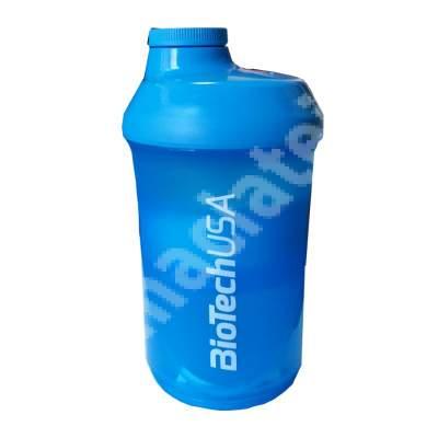 Shaker cu 2 compartimente, 600 ml, BioTechUSA