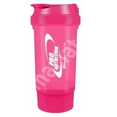 Shaker roz, 500 ml, Pro Nutrition
