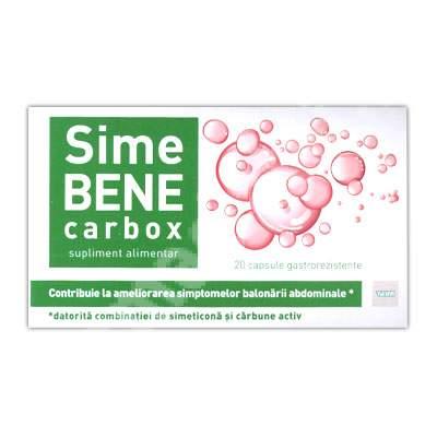 SimeBene Carbox, 20 comprimate, Teva  Pharmaceuticals