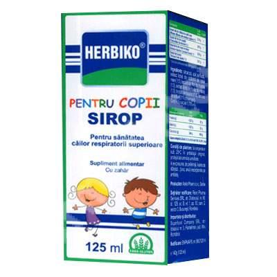 Sirop de tuse pentru copii - Herbiko, 125 ml, Abela Pharma