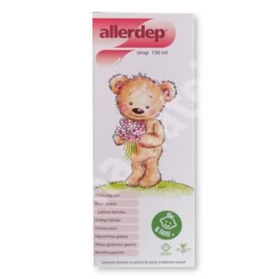 Sirop pentru copii - Allerdep, 150 ml, Dr. Phyto