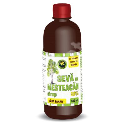 Sirop seva de mesteacăn fără zahăr, 500 ml, Hypericum