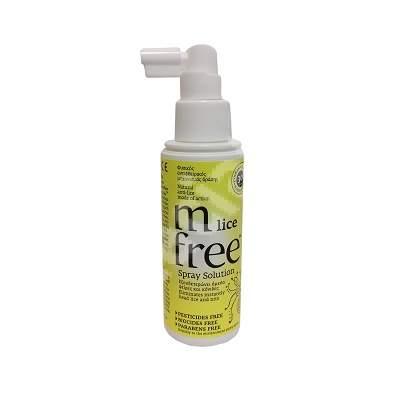 Solutie de eliminare a paduchilor si a oualor de paduchi M-free, 100 ml, Bnef Benefit Hellas