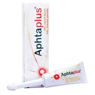 Solutie impotriva aftelor Aphtaplus, 10 ml, Biessen Pharma