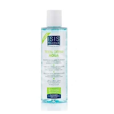 Solutie micelara purifianta Teen Derm Aqua, 250 ml, IsisPharma