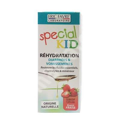 Special KID Rehidratare cu aroma de capsuni, 125 ml, Laboratoarele Eric Favre Paris