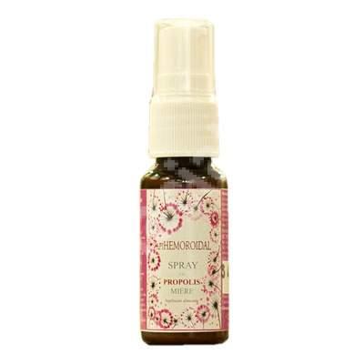 Spray Apihemoroidal cu propolis si miere, 20 ml, Prisaca Transilvania