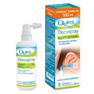 Spray auricular bazat pe elemente marine Docuspray, 100 ml, Quies