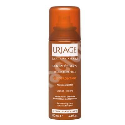 Spray autobronzant Bariesun Brume Thermale, 100 ml, Uriage