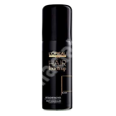 Spray corector Hair Touch Up Black, 75 ml, Loreal Professionnel