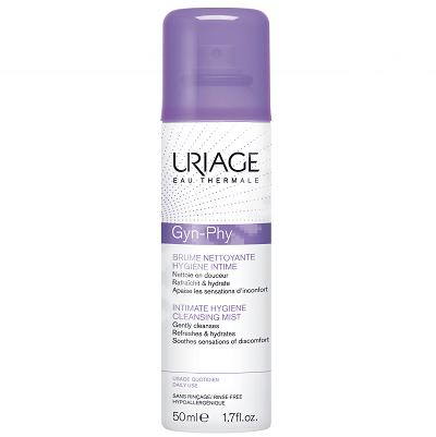 Spray de curățare intimă Gyn-Phy, 50 ml, Uriage