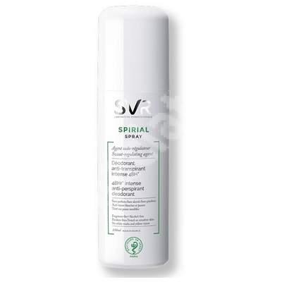 Spray deodorant antiperspirant pentru corp Spirial, 100 ml, Svr