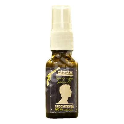 Spray intim pentru El 100% natural, 20 ml, Prisaca Transilvania