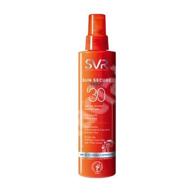 Spray Lapte SPF 30 Sun Secure, 200 ml, SVR