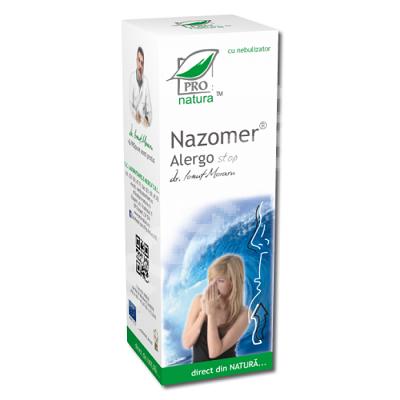 Spray nazal Nazomer Alergo Stop, 30 ml, Pro Natura