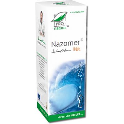 Spray nazal Nazomer HA, 50 ml, Pro Natura