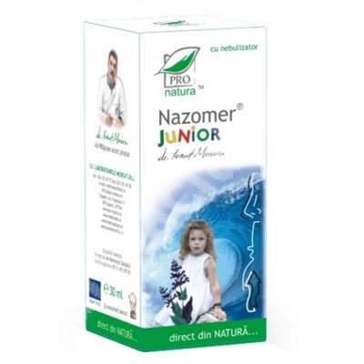 Spray nazal, Nazomer Junior, 30 ml, Pro Natura
