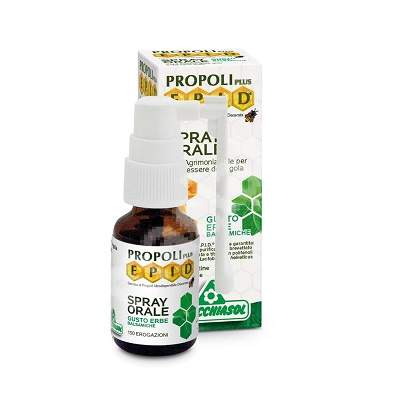 Spray oral cu propolis Epid PropoliPlus, 15 ml, Specchiasol