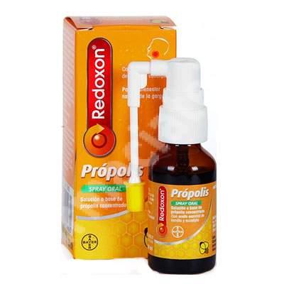 Spray oral cu propolis Redoxon, 20 ml, Bayer