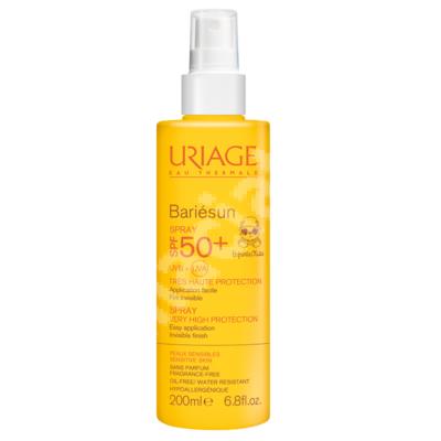 Spray pentru copii Bariesun Enfants SPF 50+, 200 ml, Uriage