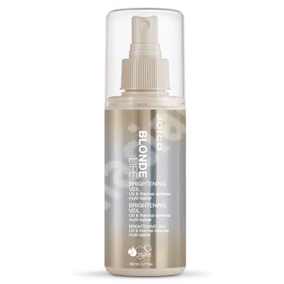 Spray pentru protecția părului blond Blonde Life Brightening Veil Spray, 150 ml, Joico