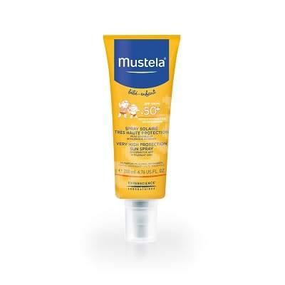 Spray protectie solara SPF 50+ pentru bebelusi si copii, 200 ml, Mustela
