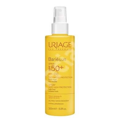 Spray protecție solară SPF50+ Bariesun, 200 ml, Uriage