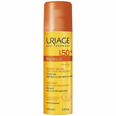 Spray uscat protecție solară SPF 50+, Bariesun Uriage, 200 ml
