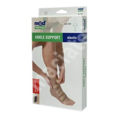 Sprijin elastic pentru glezna bej, marimea S, 7021, Med Textile