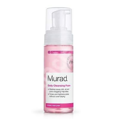 Spuma de curatare cu dubla actiune Daily Cleansing Foam, 150 ml, Murad