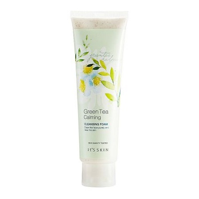 Spumă de curățare Green Tea Calming Cleansing Foam, 150 ml, Its Skin