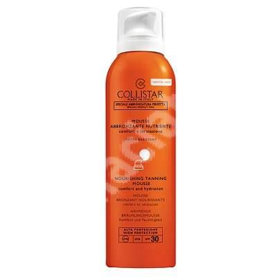Spuma hidratanta protectie solara SPF 30 (K26221), 200 ml, Collistar