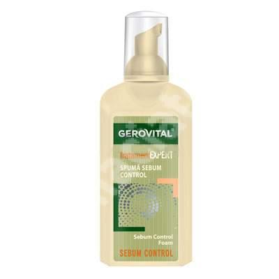 Spuma sebum control Gerovital TratamentExpert, 150 ml, Farmec