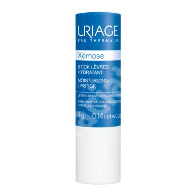 Stick de buze cu apă termală Xemose, 4 g, Uriage