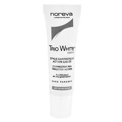 Stilou corector pentru pete pigmentare Trio White, 10 ml, Noreva