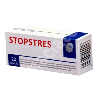 Stopstres, 20 capsule, Renans Pharma,  slavia